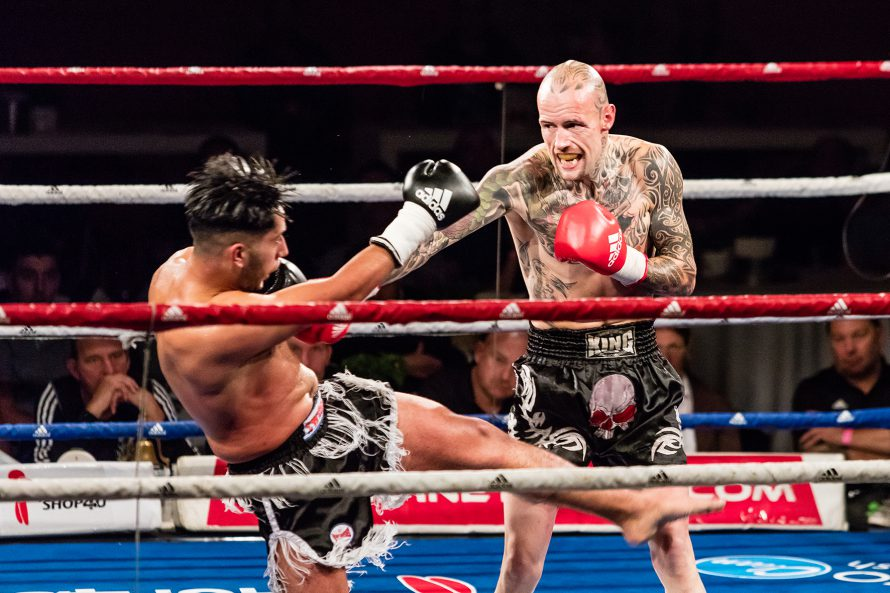 Kickboxer Martin Eilander weer de ring in