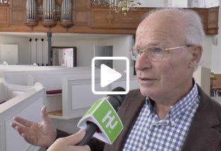 Jubileumconcert voor Piet Lievense in Nicolaaskerk