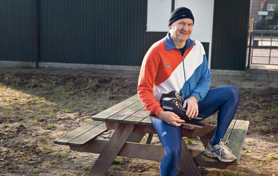 Ex-topschaatser Robert Vunderink denkt niet aan een trainerscarrière