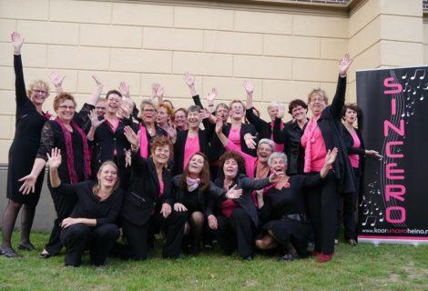 Vrouwenkoor Sincero houdt open repetitie