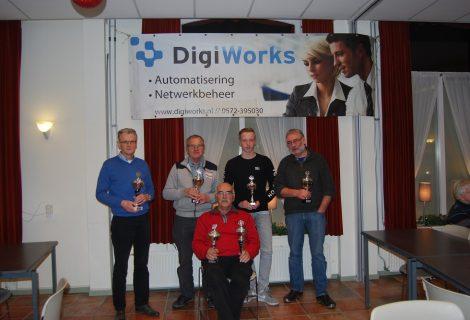 Frits Gerritsen wint 30ste editie van Sneldammen in Heino