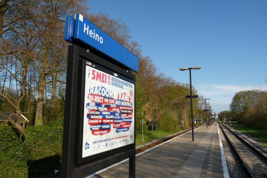 Groen licht voor uitbreiding parkeerplaatsen bij stations Raalte en Heino