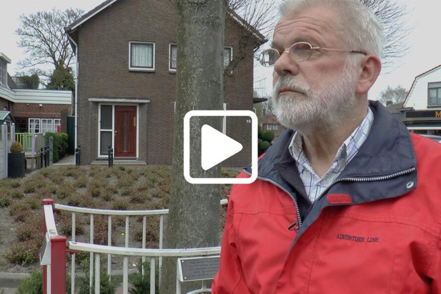 Toch gedenksteen Canadese bevrijders aan Zwolseweg