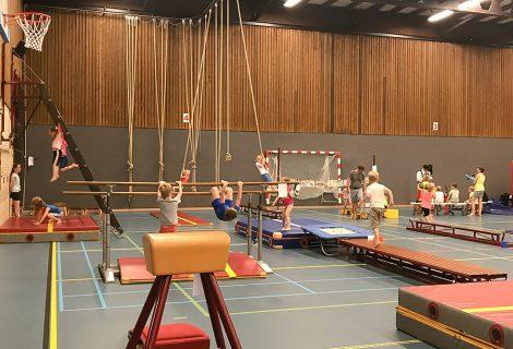 Sportclub Hevo start met Sport & Spel in Sporthal Hoogerheyne