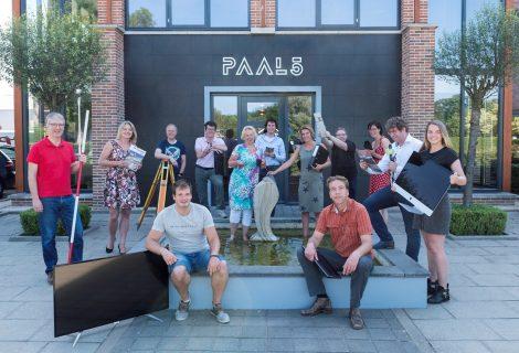 Gratis flexwerken in bedrijfsverzamelgebouw PAAL5