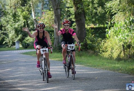 Goed gevulde mini-triatlon wederom geslaagd
