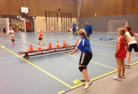 HHZD organiseert vanmiddag open handbal training
