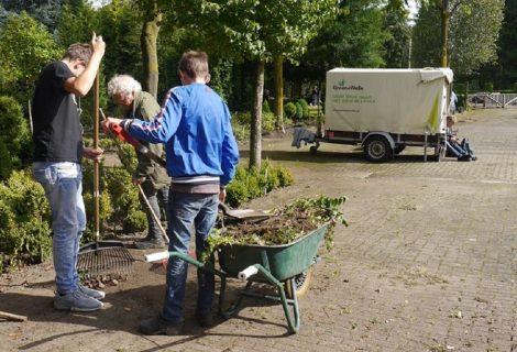Totale leegverkoop oude tuincentrum Van der Vechte