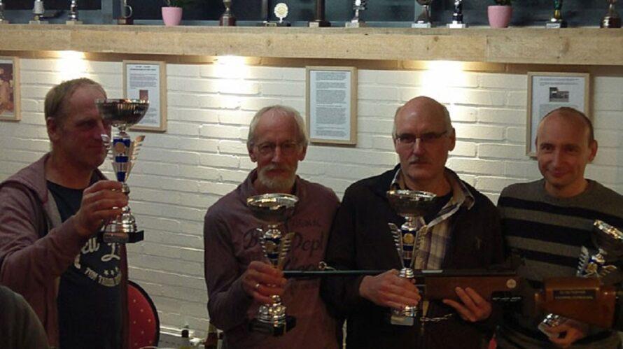 Elshofschutters, Bente Huisman en Jos Boerdijk winnaars Krommeloop Toernooi