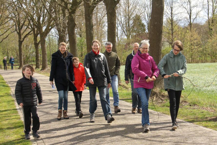 Paaswandeling Omheining in Veldhoek en Strenkhaar