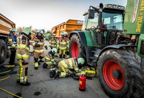 Brandweer Heino koestert de teamprestatie
