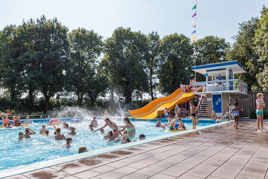 Zwembad de Tippe vandaag extra geopend