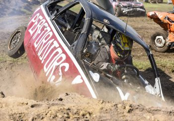 Spectaculaire duo-cross ziet daglicht tijdens Rodeofeesten Heino