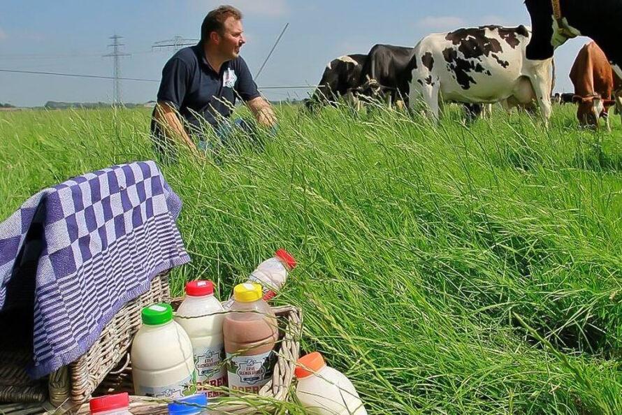 Erve Slendebroek in de prijzen bij boerenzuivelverkiezing