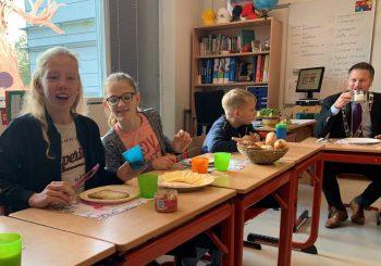 Schoolontbijt met dank aan Heinose bioboeren