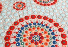 Workshop stippen schilderen op keramiek