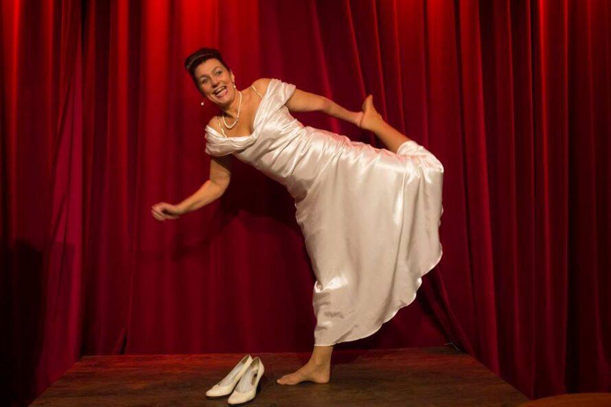Stand-up diva Quirine Melssen in Theater Podium