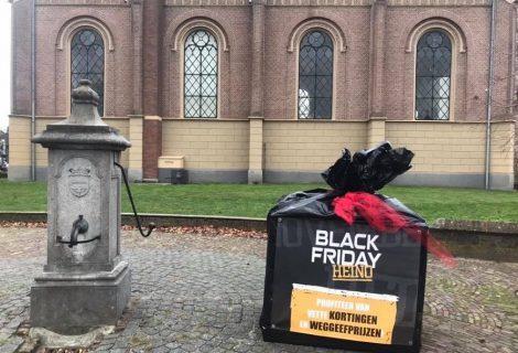 Heinose winkeliers stunten opnieuw tijdens Black Friday