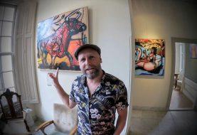 Erik Neimeijer bij Cultureel Café Heino