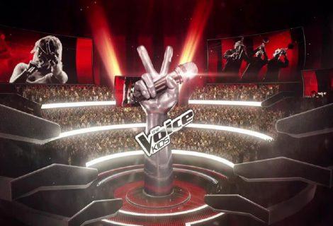 Sabien Koning in actie tijdens 'The Battles' van The Voice