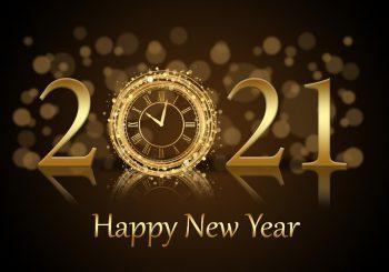 Gelukkig en gezond 2021!