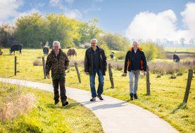 Al wandelend op ontdekkingstocht door natuurgebied Het Lierderbroek