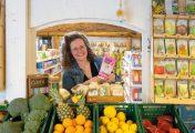 Koop een tasje biologische inspiratie bij Supermarkt in het bos